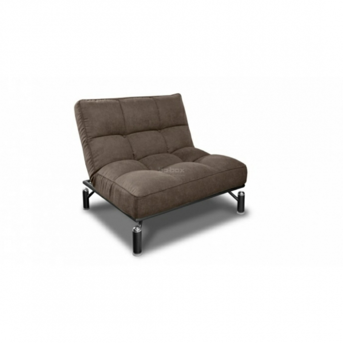 Кио диван 140 (черный муар)