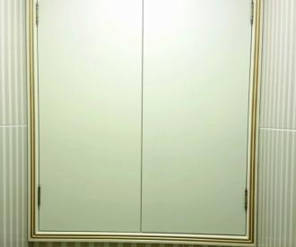 Встроенные шкафчики для санузла