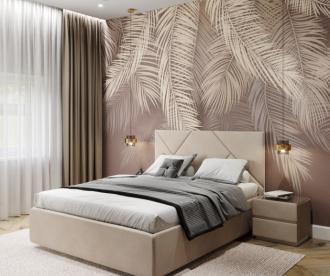 Комплект кровать и тумбочка